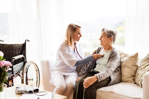 Home care can reduce the risk of any further health issues